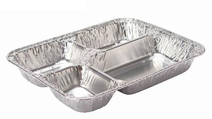 انواع ظروف یکبار مصرف آلومینیومی